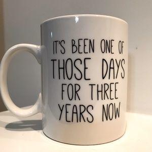 NWT. Large coffee mug P. Graham Dunn